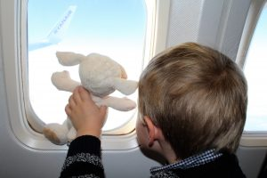 Surviving a flight with a young child. Tips for flying with young kids