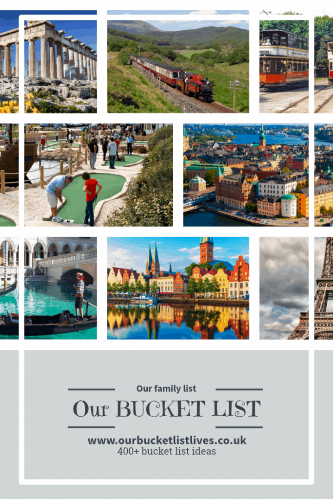 Our family bucket list, bucket list ideas, bucket list for kids