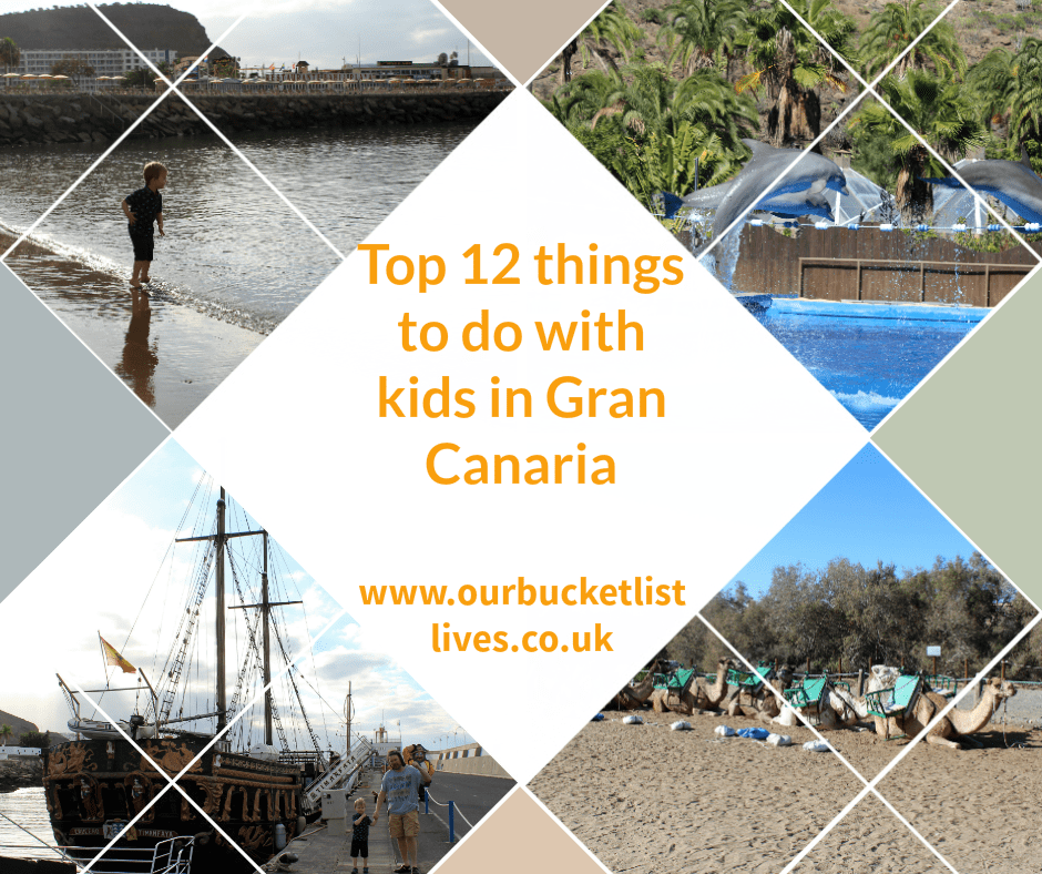 Top 12 things to do in Gran Canaria with kids