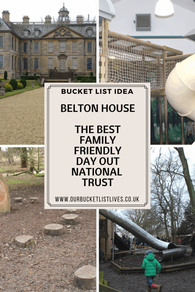 Fun on a muddy day at Belton House, great day out for kids