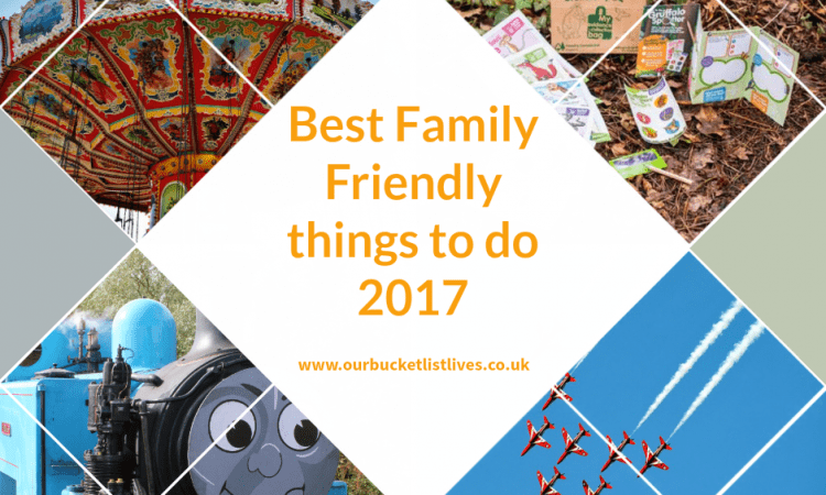What's on - Best Family friendly events in 2017 UK