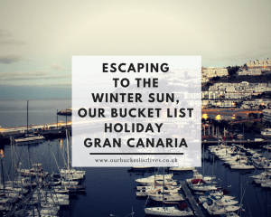 Escaping to the winter sun, our bucket list holiday to Gran Canaria