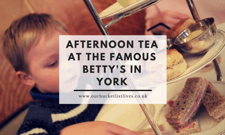 Have afternoon tea at Betty's - York, with kids
