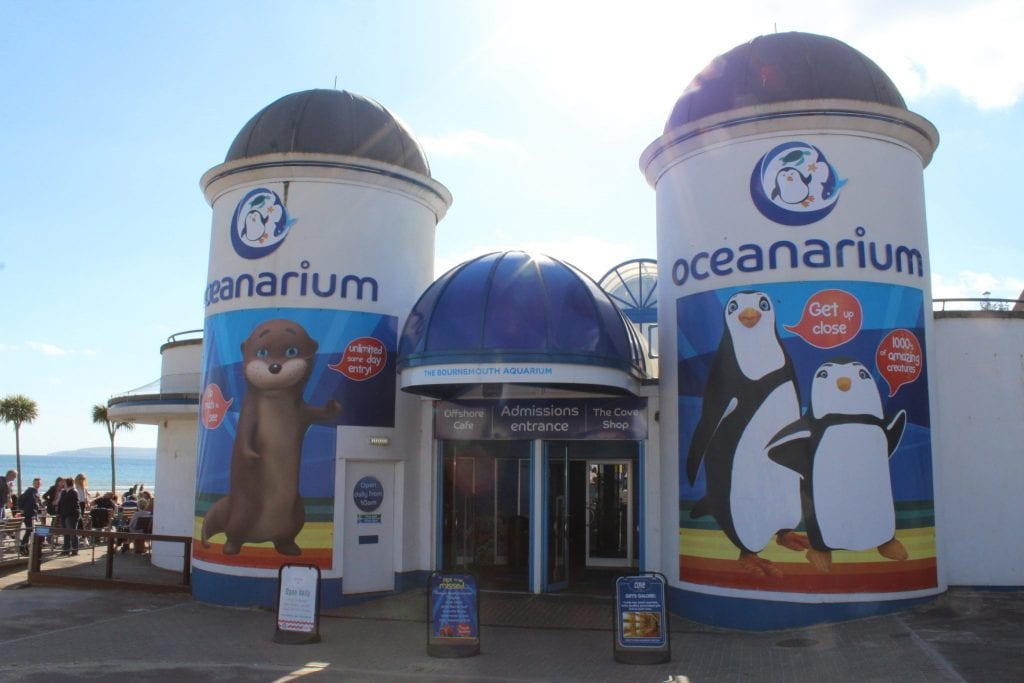Oceanarium, Bournemouth Beach
