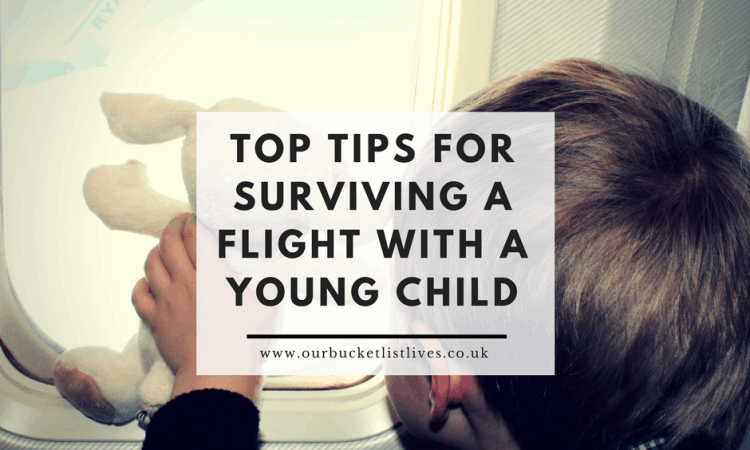 Top tips for surviving a flight with a young child - yes we survived