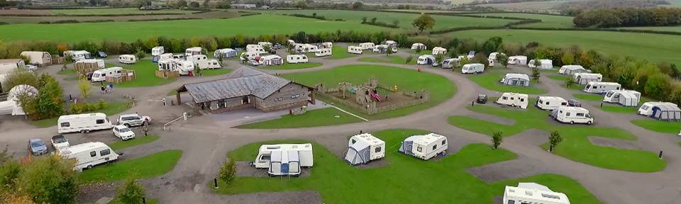 Lady Heyes Touring Caravan park, Cheshire