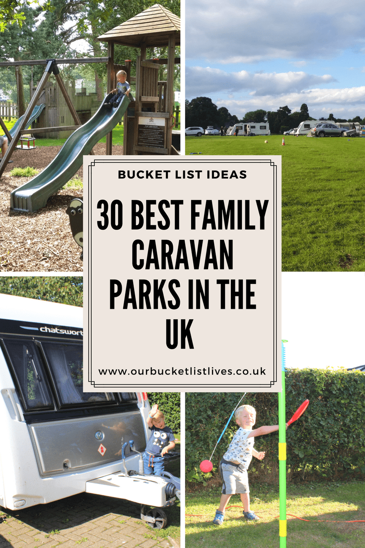 30 Best Family Caravan Parks in the UK - Highly recommended