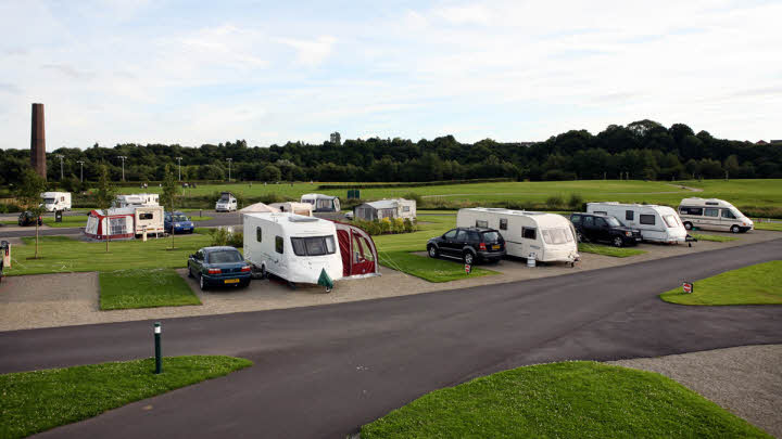 Burrs Country Park Caravan and Motorhome Club Site Photo