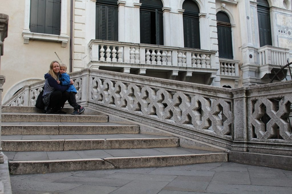 Some of the Thousands of steps in Venice