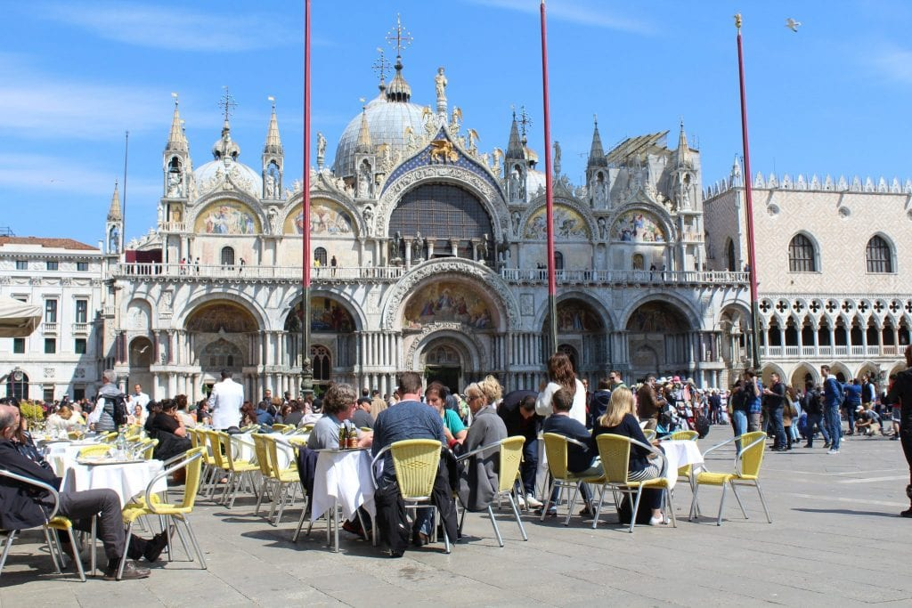 Drink Square Venice St Mark's Square
