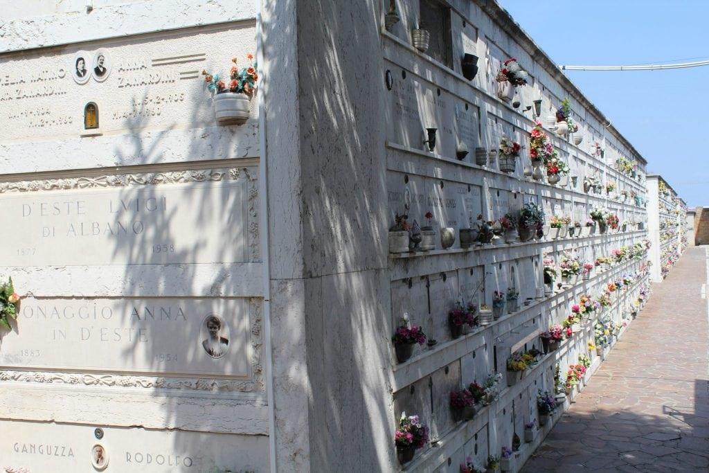 San Michele Cemetery Island Venice