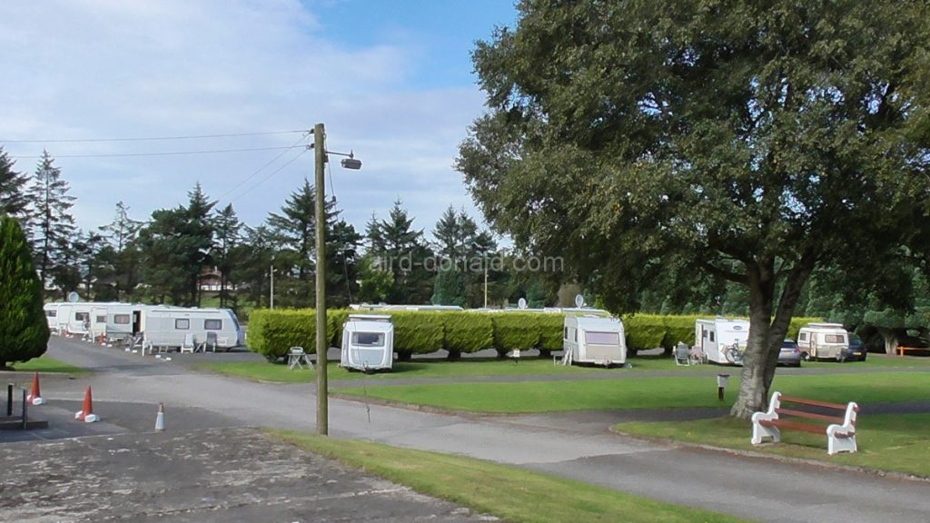 Aird Donald Caravan Site Photo
