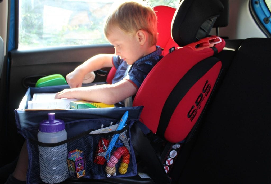 Kids Car Play and Snack Table - Review & Giveaway