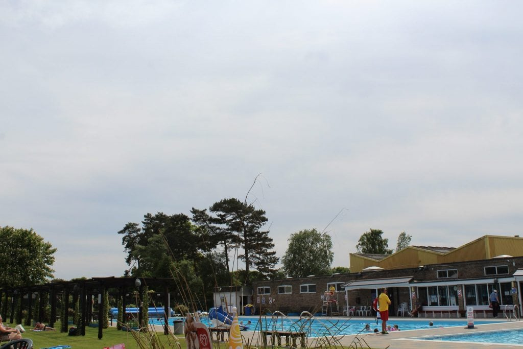 Jubilee Park Lido - Woodhall Spa - Where you can pretend you are abroad