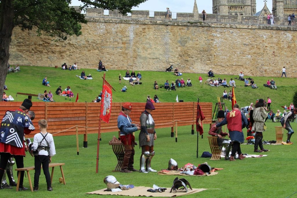 Lincoln Castle - Grand Medieval Joust - Event Review