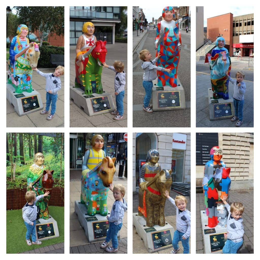 Knights' Trail Lincoln - Follow the Trail & Collect Your Prize