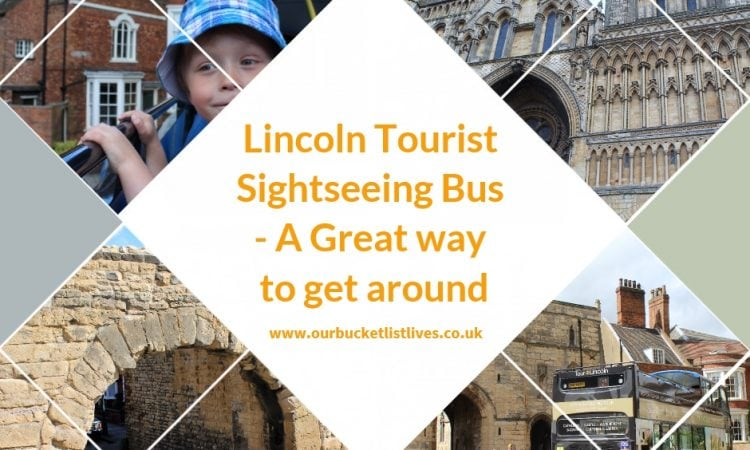 Lincoln Tourist Sightseeing Bus - A Great way to get around