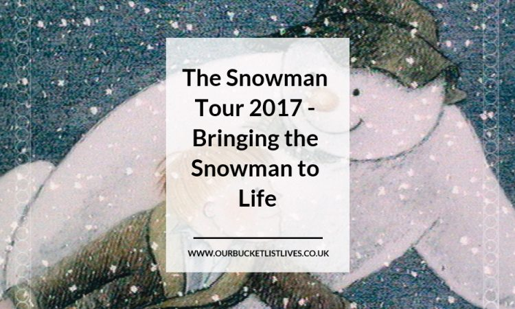 The Snowman Tour 2017 - Bringing the Snowman to Life