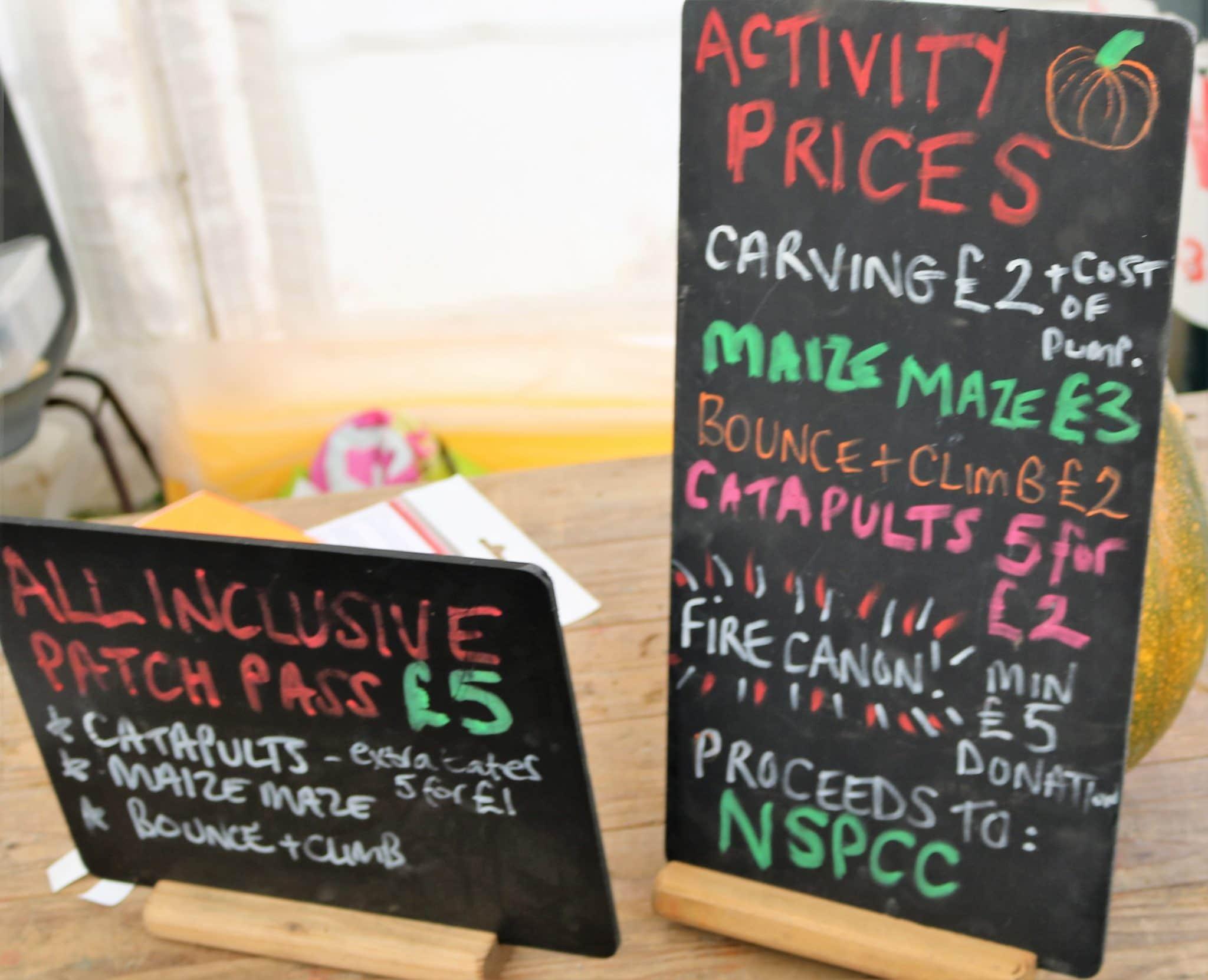pyo pumpkins in lincolnshire + halloween activities - bell's