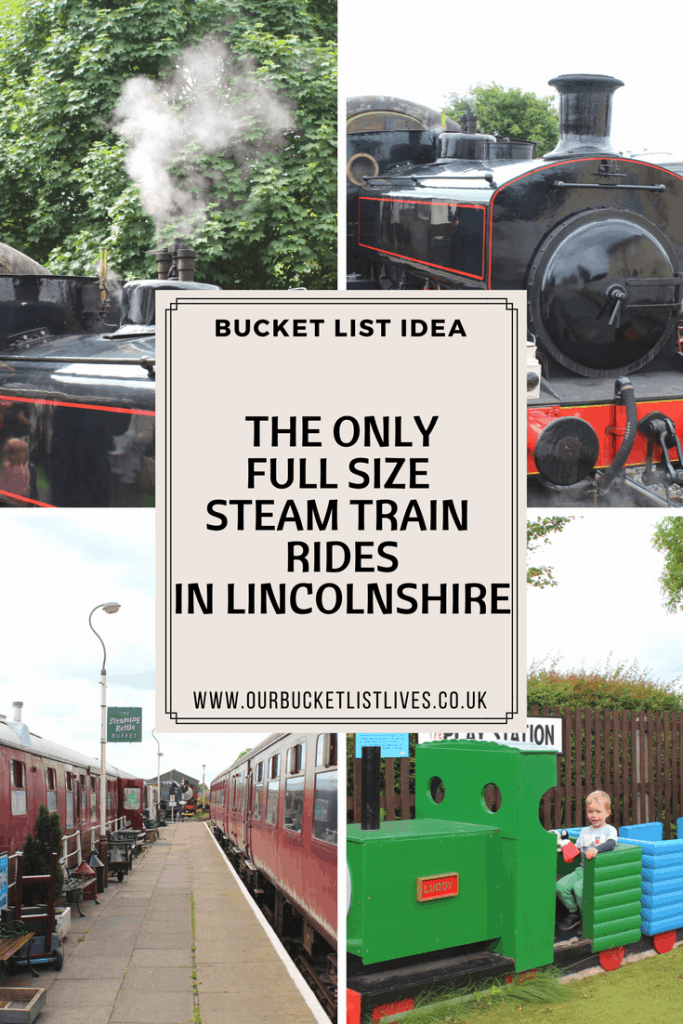 A Ride on a Steam Train in Ludborough, Lincolnshire Wolds Railway