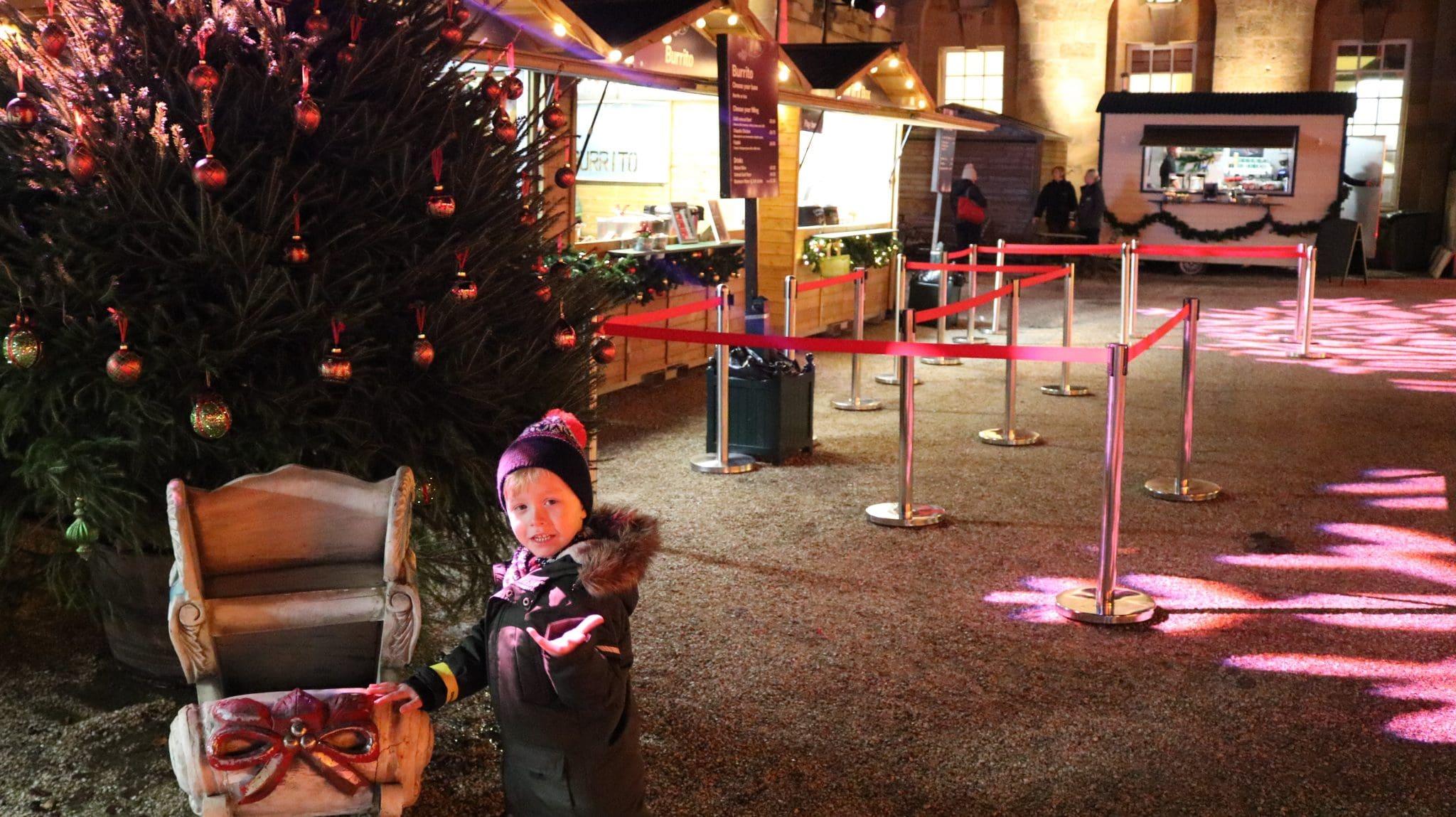 Christmas at Blenheim Palace - Christmas Lights Trail