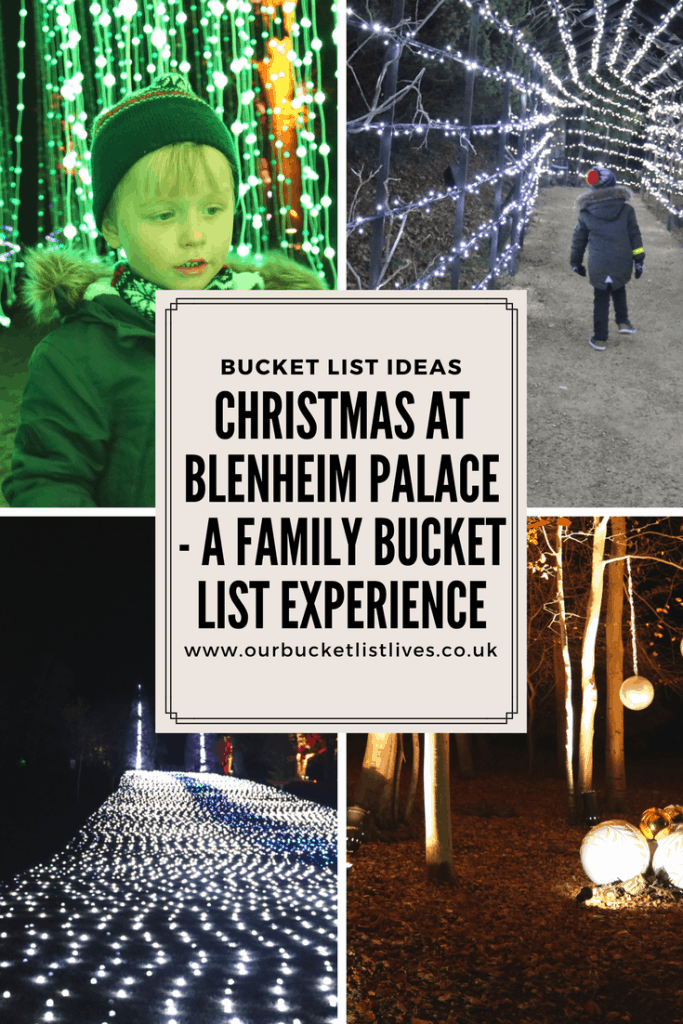 Christmas at Blenheim Palace - A Family Bucket List Experience