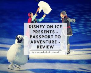 Disney on Ice Presents - Passport to Adventure - Review