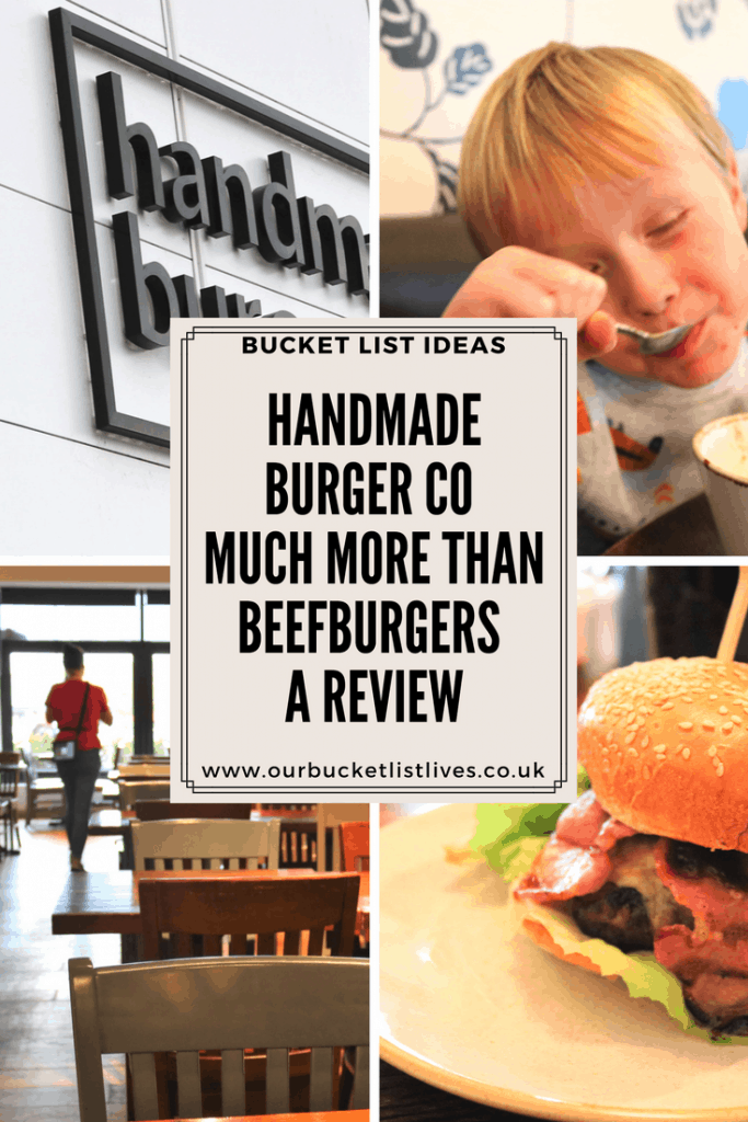 Handmade Burger Co - Much More Than Beefburgers - A Review