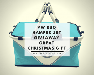 VW BBQ Hamper Set Giveaway - Great Christmas Gift