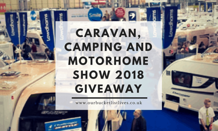 Caravan, Camping and Motorhome Show 2018 - 5 Pairs of Tickets to Giveaway