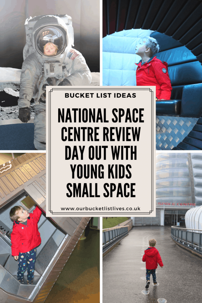 National Space Centre Review | Day out With Young Kids | Small Space