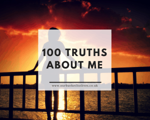 100 truths about me