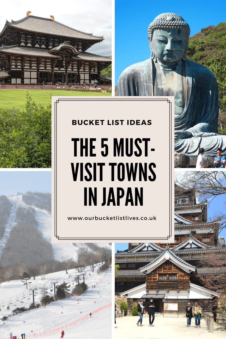 5 must visit towns in Japan