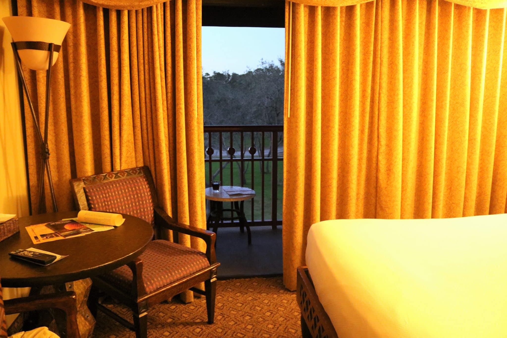 Disney S Animal Kingdom Lodge Review Club Level Room