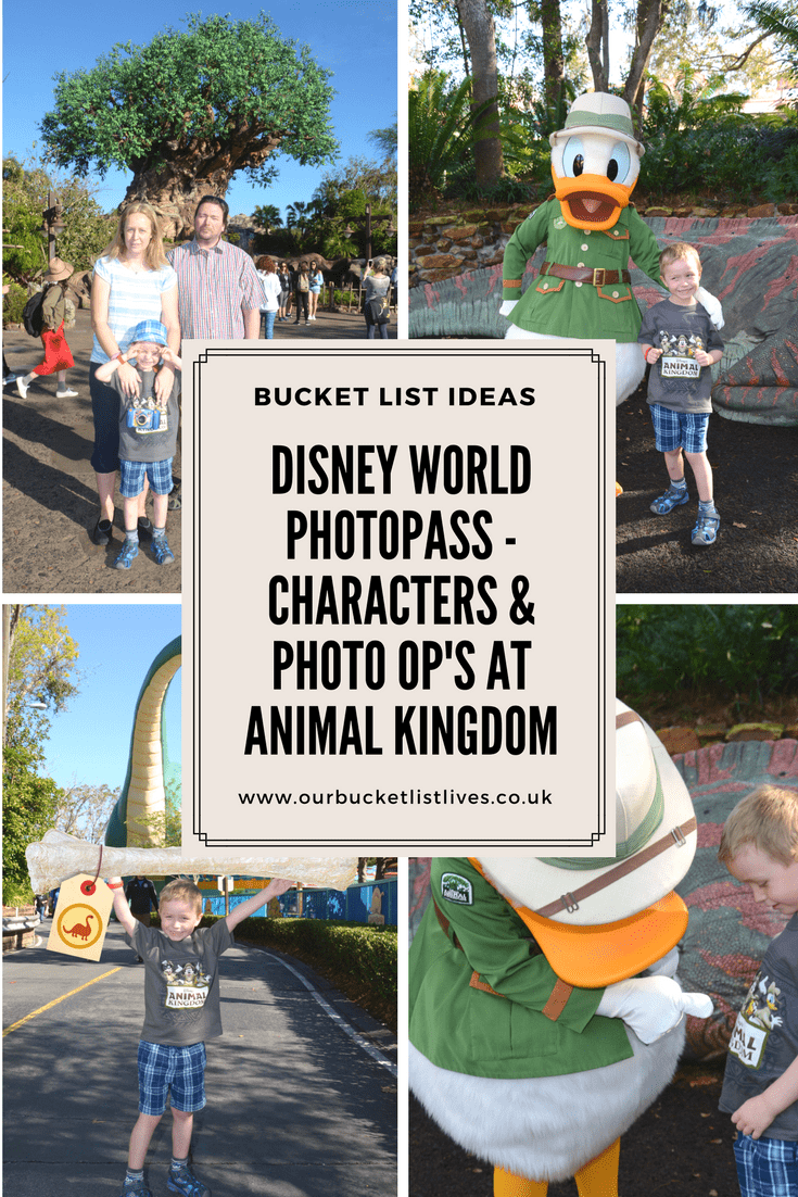 Disney World PhotoPass - Characters & Photo Op's at Animal Kingdom