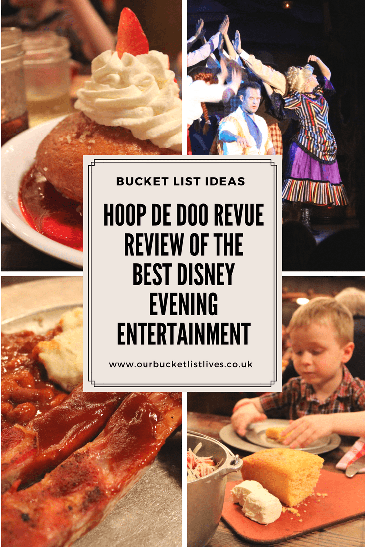 Hoop De Doo Revue | Review of the Best Disney Evening Entertainment