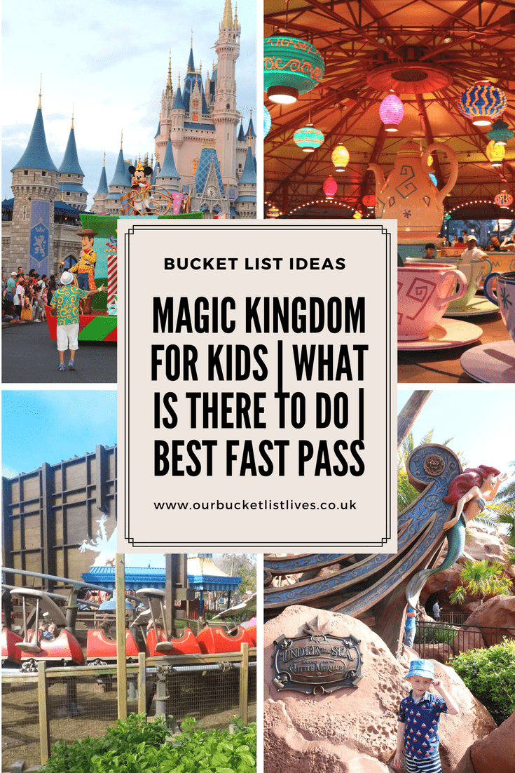 Magic Kingdom For Kids | What is there to Do | Best Fast Pass
