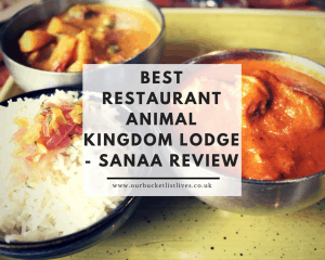 Best Restaurant Animal Kingdom Lodge - Sanaa Review