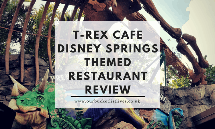 T-Rex Cafe Disney Springs | Themed Restaurant Review