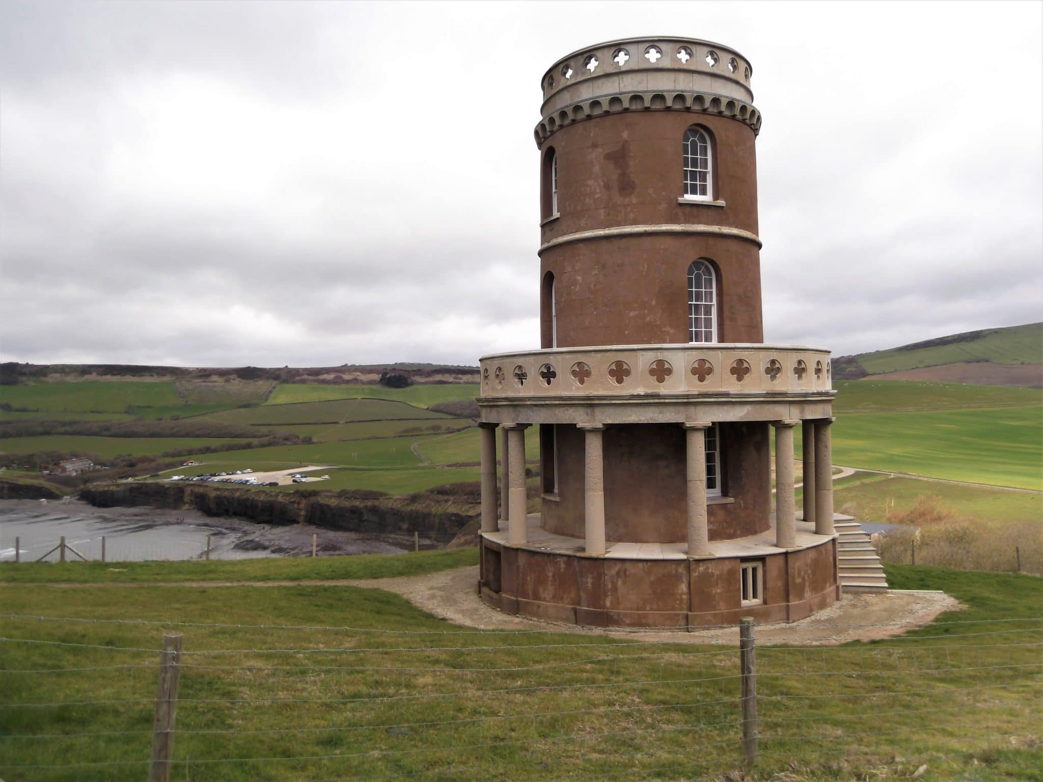 11 - Clavell Tower at the top