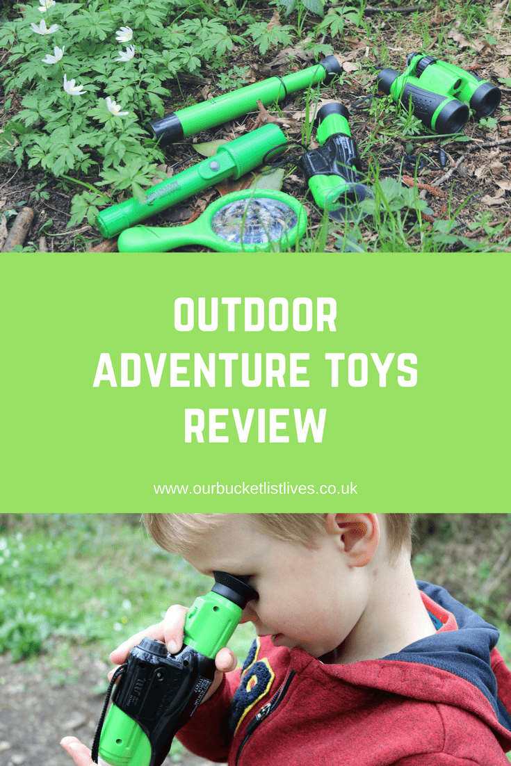 Kids Outdoor Adventure Toys Review & Giveaway | Childrens Explorer Kit