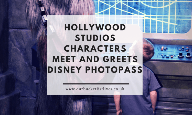 Hollywood Studios Characters | Meet and Greets | Disney PhotoPass