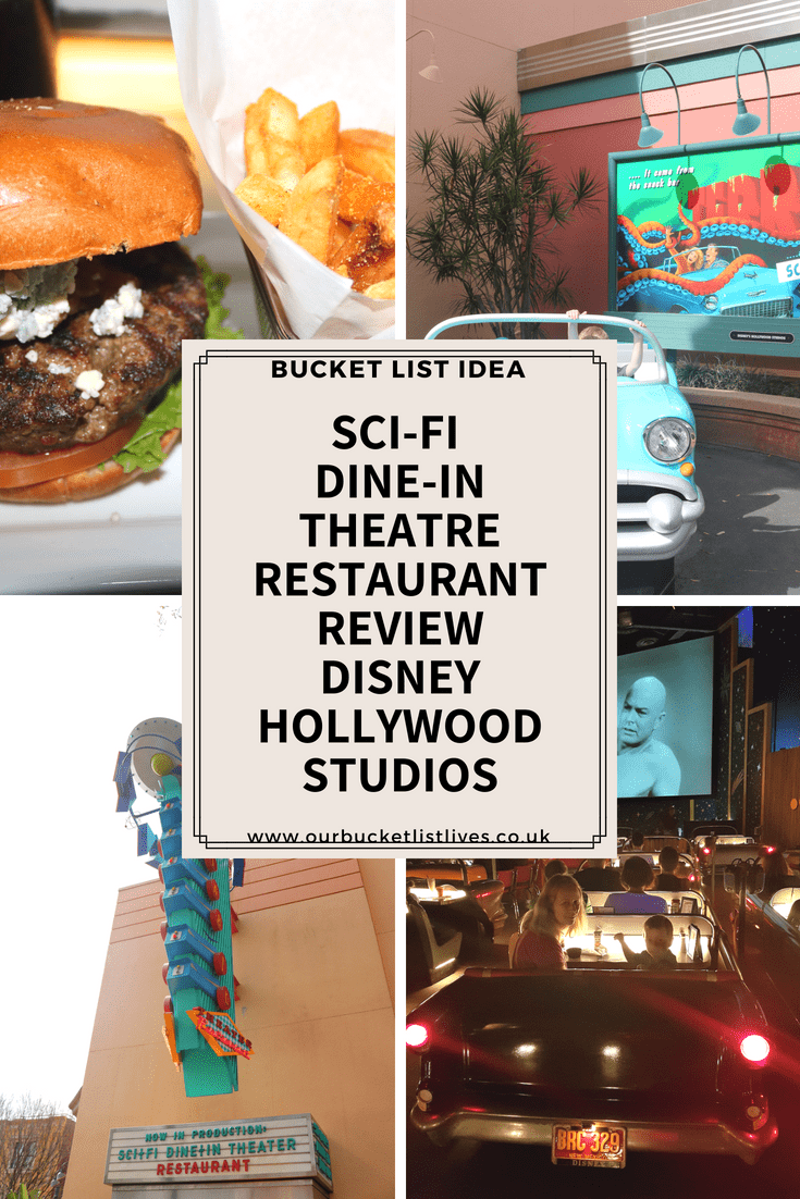 Sci-Fi Dine-in Theatre Restaurant Review | Disney Hollywood Studios