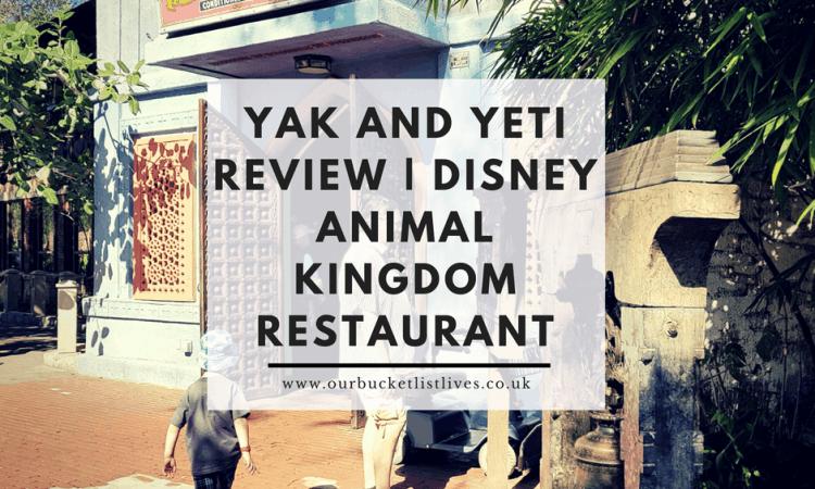 Yak and Yeti Review | Disney Animal Kingdom Restaurant