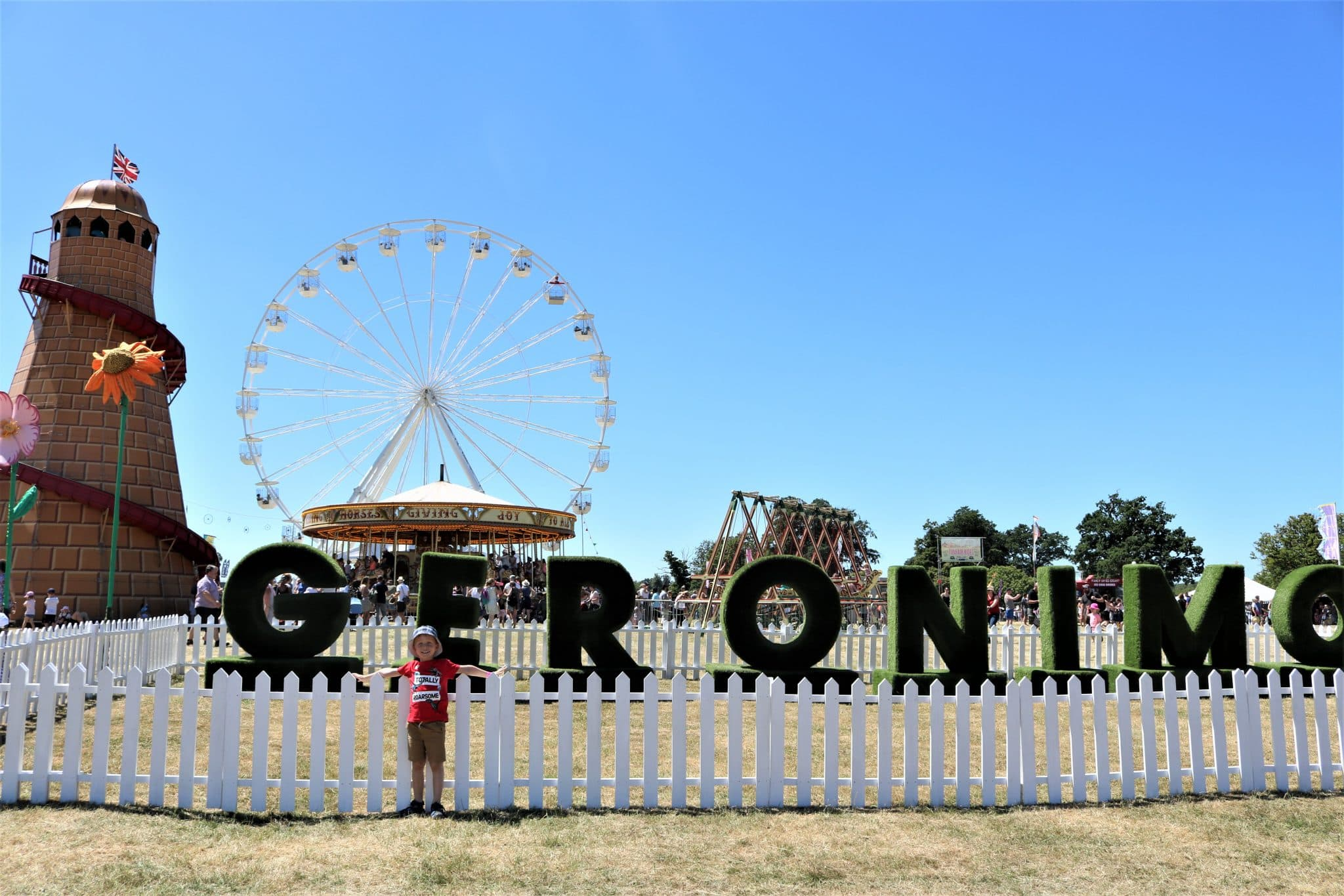 Geronimo Festival 2018, Knebworth House