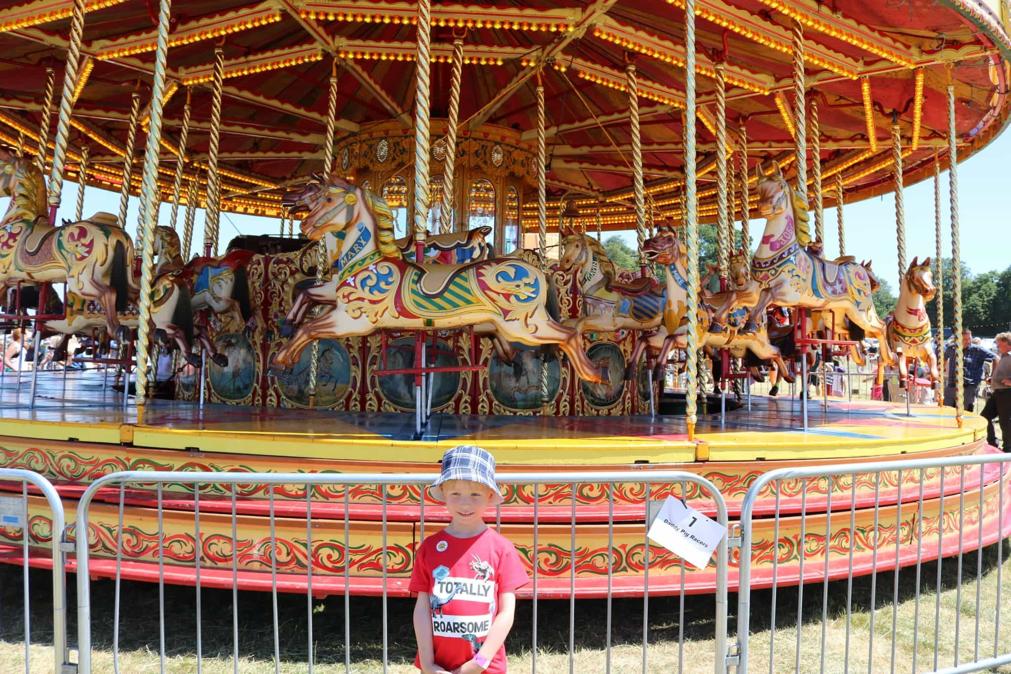 One of the many Fairground Rides at Geronimo