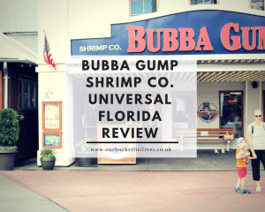 Bubba Gump Shrimp Co. Universal Florida Review