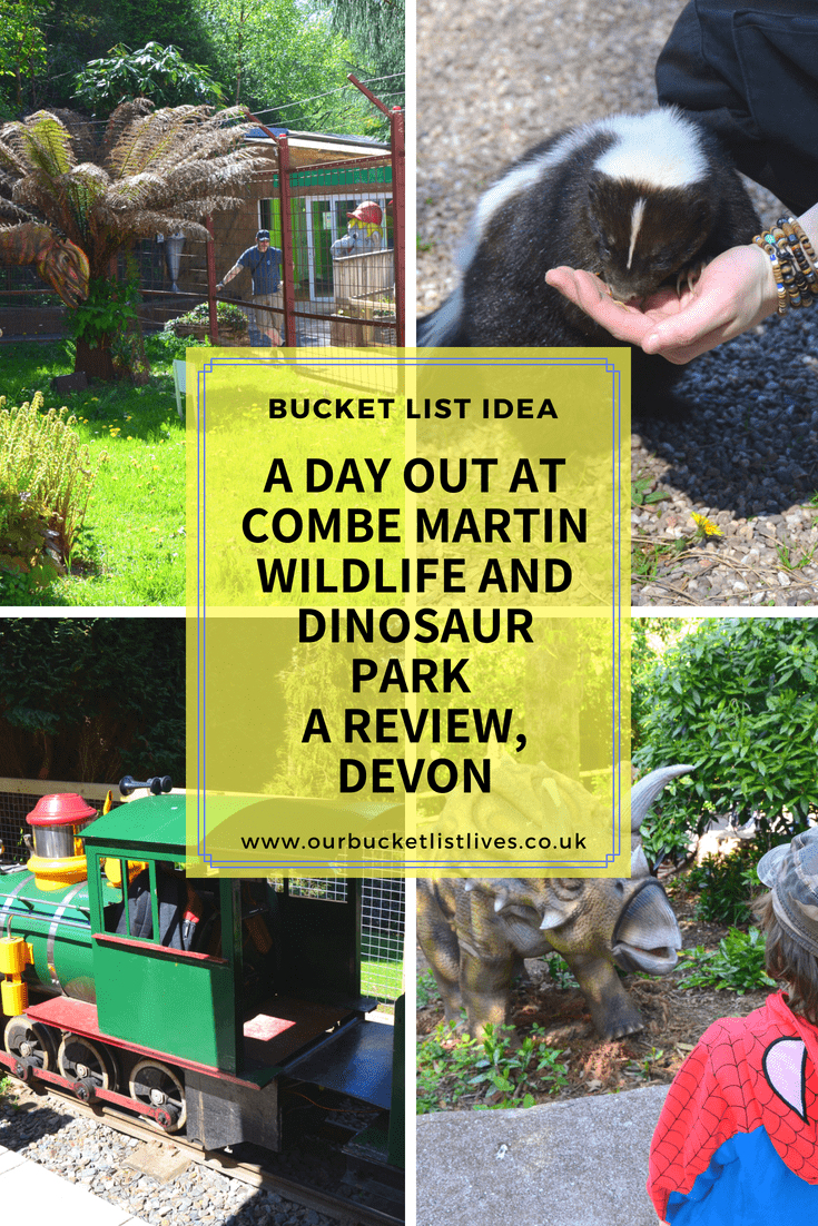 A day out at Combe Martin Wildlife and Dinosaur Park | A Review, Devon