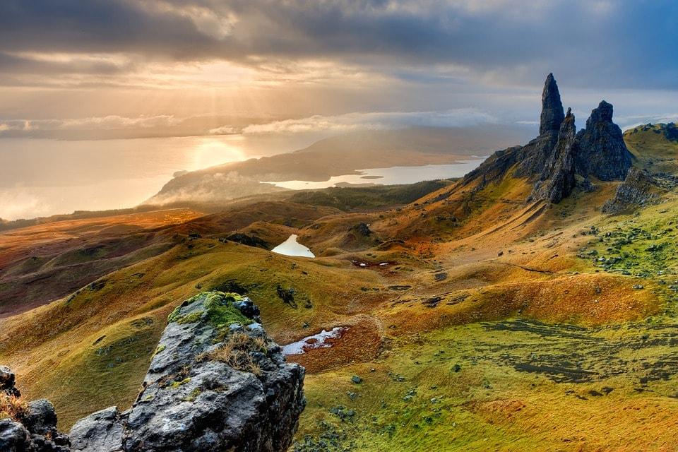Isle of Man - Old man of Storr