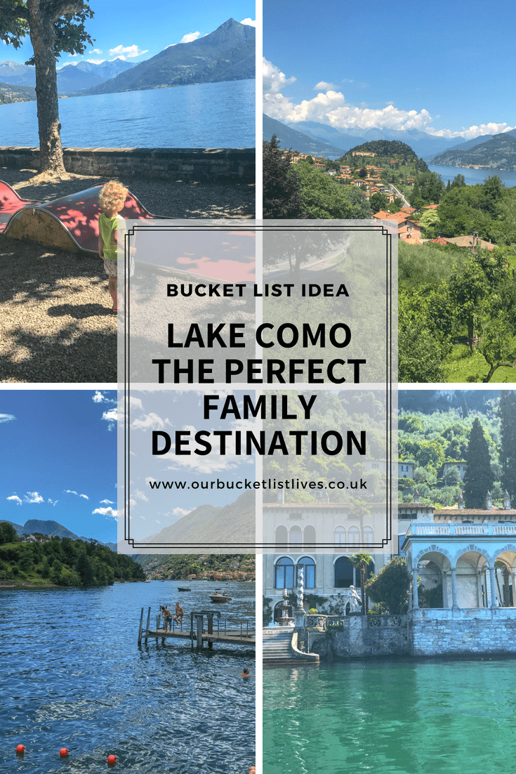 Lake Como - The Perfect Family Destination
